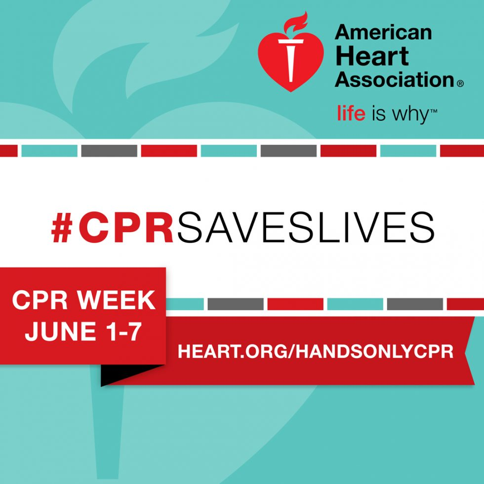 Happy National CPR & AED Awareness Week 2018: June 1-7 - AED.US BLOG