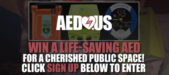 Donation Winner to Spread Awareness and Teach - AED.US BLOG