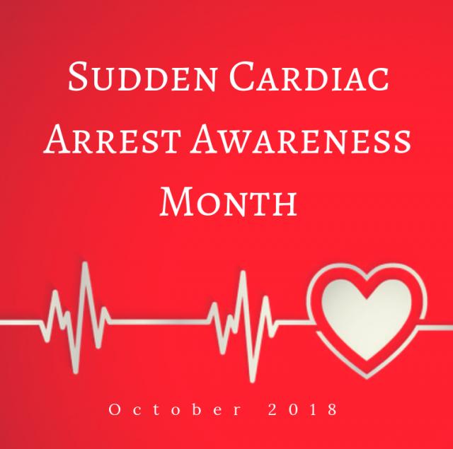 Sudden Cardiac Arrest Awareness Month