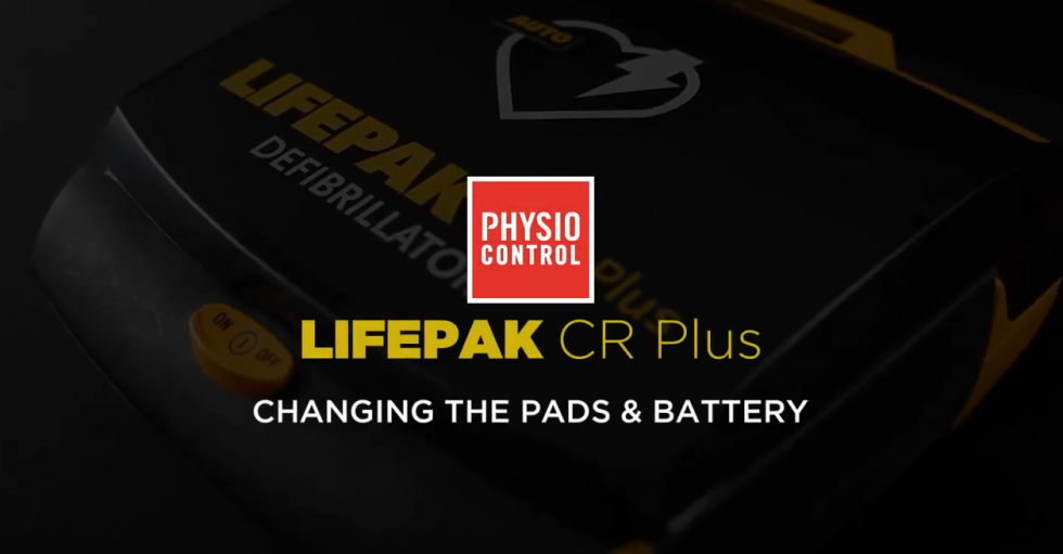 How to Change the Pads & Battery on a Physio-Control LIFEPAK CR Plus - AED.US BLOG