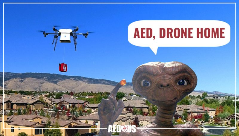 10 US Cities Approved for Drones Delivering AEDs - AED.US BLOG