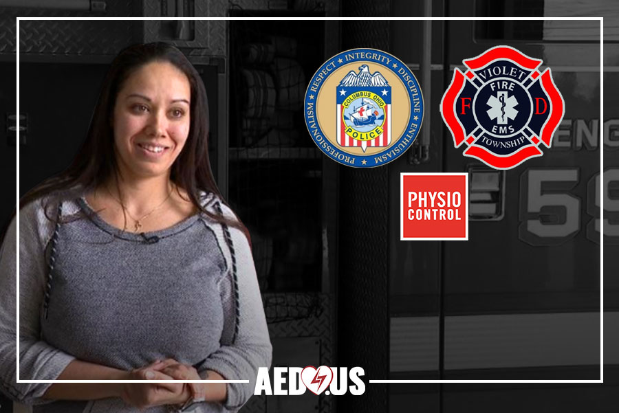 Woman saved by AED in Gym - AED.US BLOG