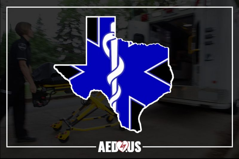 New 2019 Texas EMS Legislation Requires Spare Batteries, Extra Power Source - AED.US BLOG