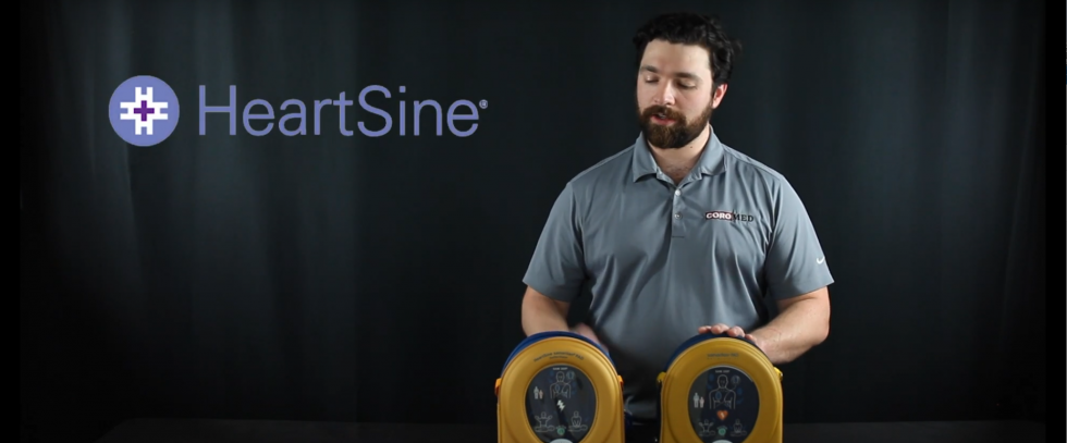 HeartSine samaritan PAD 350P & 360P AED Overview with Phillip - AED.US BLOG
