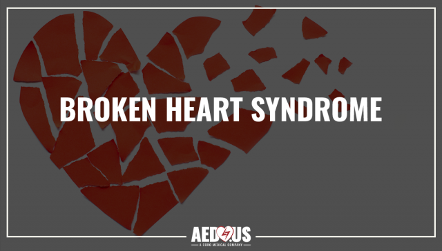 Broken Heart Syndrome. Paper ripped in many pieces to form the shape of a heart.