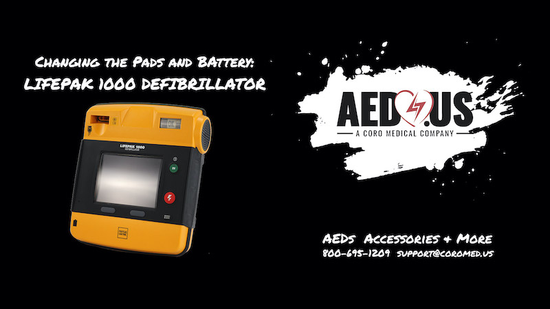 How to Change Pads and Battery on LIFEPAK 1000 AED