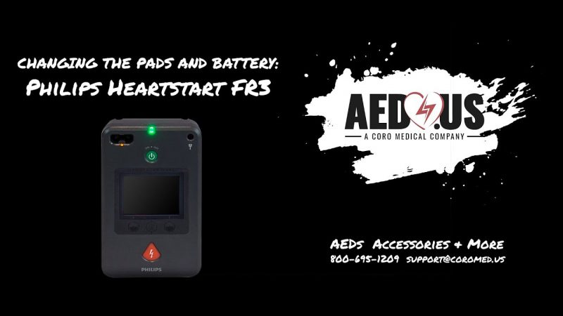 FR3- how to change pads and batteries