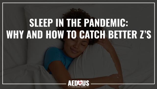 sleep in the pandemic. girl sleeping in bed