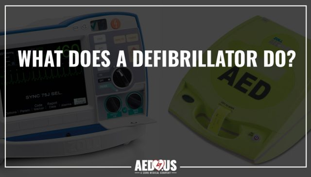 what does a defibrillator do?