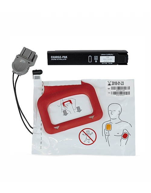 Physio Control Lifepak Cr Plus Charge Pak 1 Set Of