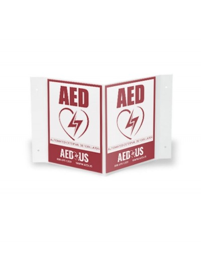 AED.us 3D AED Wall Sign