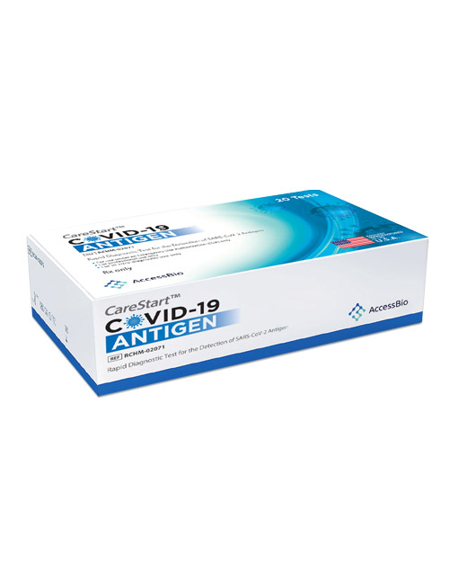 CareStart Covid 19 Antigen Rapid POC Test - 20 Count