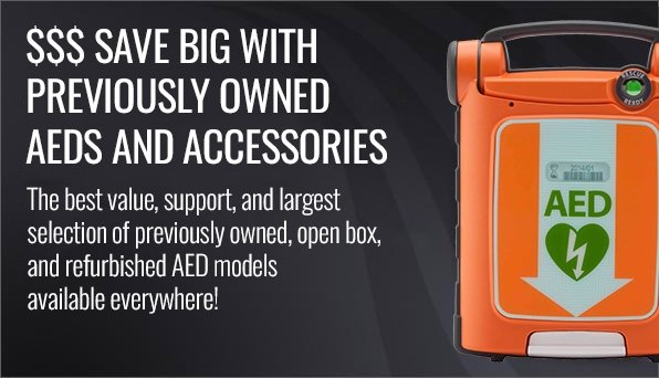 AED.US Great Deals On AEDS and AED Accessories