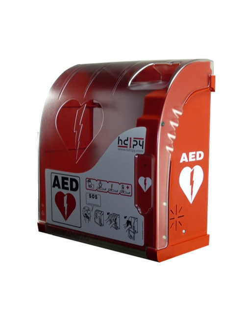 AIVIA 200 INDOOR / OUTDOOR, ALARMED AED CABINET