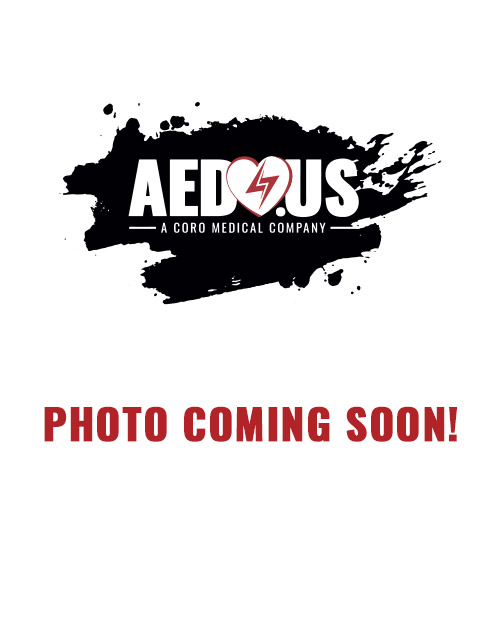 CARDIAC SCIENCE AED WALL CABINET: SURFACE MOUNT WITH ALARM & STROBE, SECURITY ENABLED