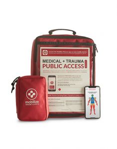 Mobilize Rescue Systems, Public Access with utility kit and phone app