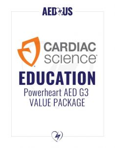Cardiac Science Powerheart G3 Plus AED Education Value Package