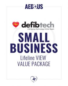 Defibtech Lifeline VIEW / ECG AED Small Business Value Package