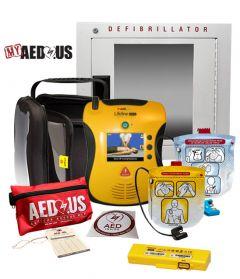 Defibtech Lifeline VIEW/ECG AED Community / Public Access Value Package