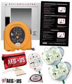 "HeartSine samaritan PAD AED ""All-You-Need"" Value Package"