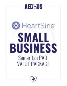 HeartSine Samaritan PAD AED Small Business Value Package