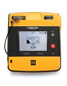 Physio-Control LIFEPAK 1000 Defibrillator Graphical Display- ENCORE SERIES (Refurbished)