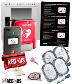 """Philips HeartStart FR3 AED """"All-You-Need"""" Value Package"""