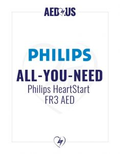"Philips HeartStart FR3 AED ""All-You-Need"" Value Package"