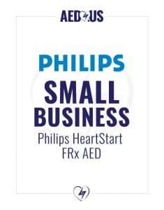 Philips HeartStart FRx AED Small Business Value Package