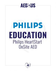 Philips HeartStart OnSite AED Education Value Package