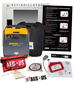 Physio-Control LIFEPAK CR Plus AED Corporate Value Package