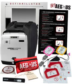 """Physio-Control LIFEPAK EXPRESS AED """"All-You-Need"""" Value Package"""