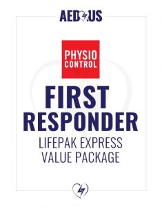 Physio-Control LIFEPAK EXPRESS AED First Responder Value Package