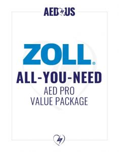 "Zoll AED Pro ""All-You-Need"" Value Package"