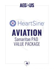 HeartSine PAD Aviation Value Package