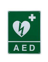 ILCOR Flush Wall Sign (AED)