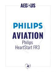 Philips HeartStart FR3 AED Aviation Value Package