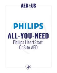 """Philips OnSite AED """"All-You-Need"""" Value Package"""
