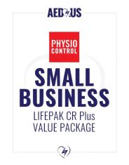 Physio-Control LIFEPAK CR Plus AED Small Business Value Package