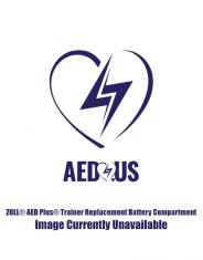 ZOLL® AED Plus® Trainer Replacement Battery Compartment