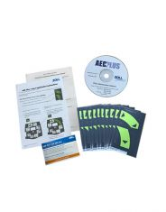 AED Plus 2010 Guidelines Upgrade, Ten Kit (CD and Overlay Label Sets)