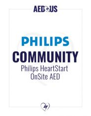 Philips HeartStart OnSite AED Community / Public Access Value Package