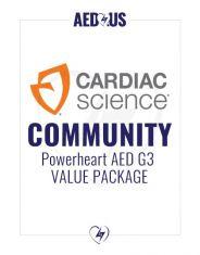 Cardiac Science Powerheart G3 Plus AED Community / Public Access Value Package