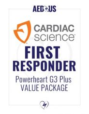 Cardiac Science Powerheart AED G3 Plus First Responder Value Package