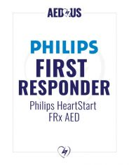 Philips HeartStart FRx AED First Responder Value Package