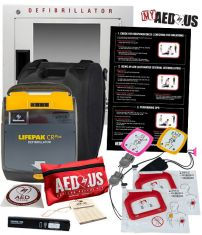 """Physio-Control LIFEPAK CR Plus AED """"All-You-Need"""" Value Package"""
