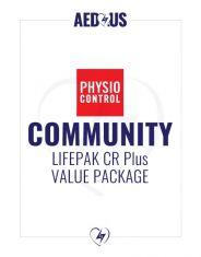 Physio-Control LIFEPAK CR Plus AED Community / Public Access Value Package