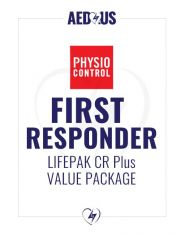 Physio-Control LIFEPAK CR Plus AED First Responder Value Package