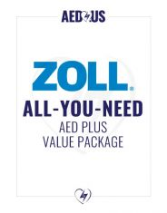 """ZOLL AED Plus """"All-You-Need"""" Value Package"""