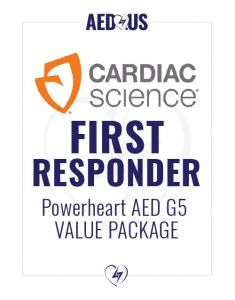 Cardiac Science Powerheart AED G5 First Responder Value Package